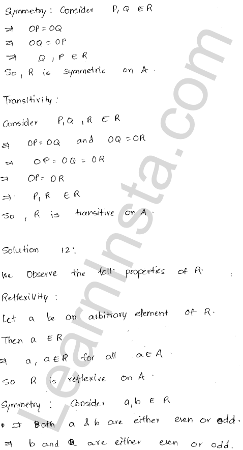 RD Sharma Solutions Class 12 Relations Chapter 1 Ex 1.2 14