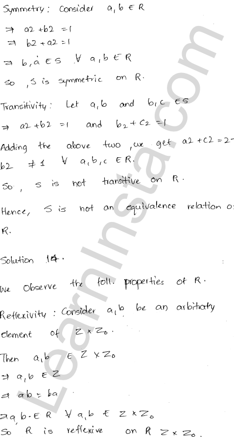 RD Sharma Class 12 Maths Solutions Chapter 1 Relations Ex 1.2 16
