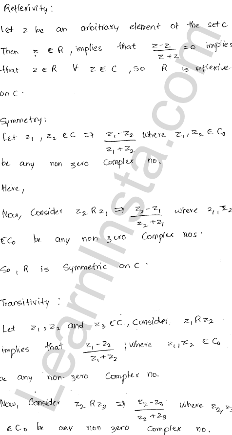 RD Sharma Class 12 Maths Solutions Chapter 1 Relations Ex 1.2 20
