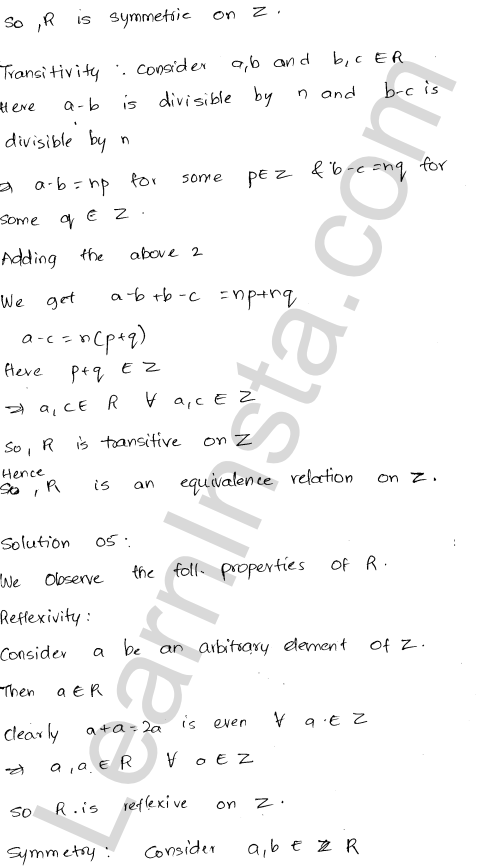 RD Sharma Class 12 Solutions Chapter 1 Relations Ex 1.2 5