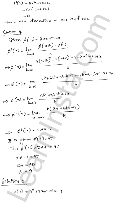 RD Sharma Solutions Class 12 Differentiability Chapter 110 Ex 10.2 3