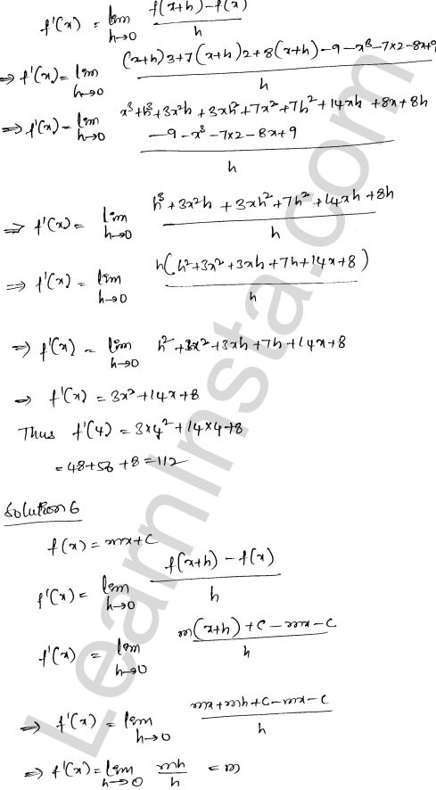 RD Sharma Class 12 Maths Solutions Chapter 10 Differentiability Ex 10.2 4