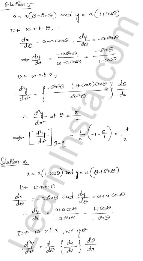 RD Sharma Solutions Class 12 Higher Order Derivatives Chapter 12 Ex 12.1 13