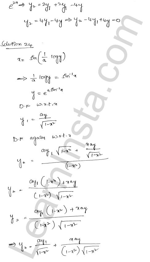 RD Sharma Class 12 Maths Solutions Chapter 12 Higher Order Derivatives Ex 12.1 19