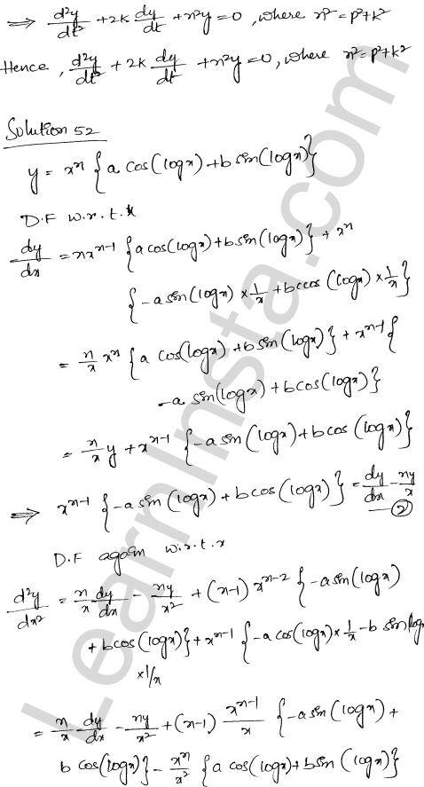 RD Sharma Class 12 Solutions Chapter 12 Higher Order Derivatives Ex 12.1 40