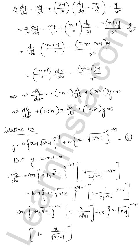 RD Sharma Class 12 Solutions Higher Order Derivatives Chapter 12 Ex 12.1 41