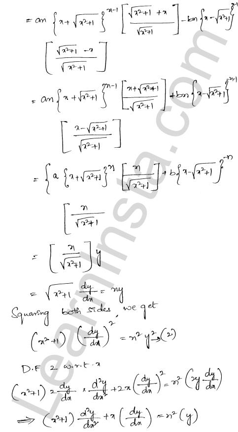 RD Sharma Class 12 Solutions Higher Order Derivatives Chapter 12 Ex 12.1 42