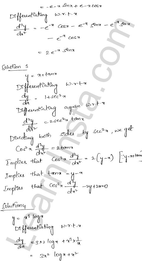 RD Sharma Class 12 Solutions Chapter 12 Higher Order Derivatives Ex 12.1 5