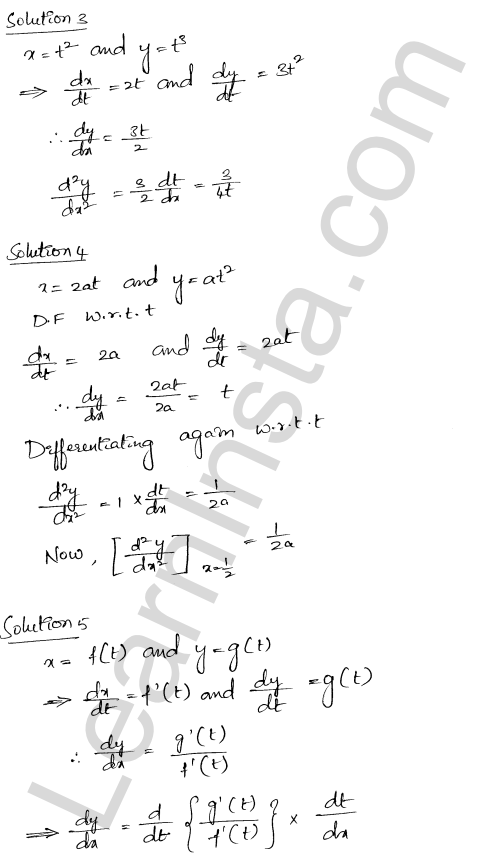 RD Sharma Solutions Class 12 Higher Order Derivatives Chapter 12 VSAQ 2