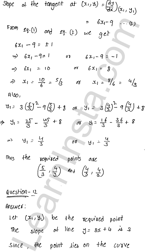 Solution of RD Sharma class 12 chapter 16 Tangents and Normals Ex 16.1 17