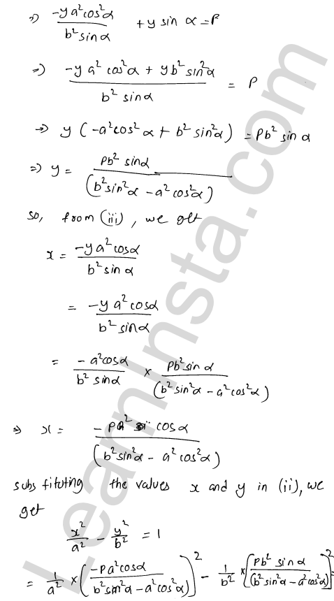 RD Sharma Solutions Class 12 Tangents and Normals Chapter 16 Ex 16.3 31