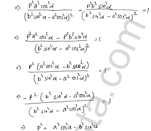 RD Sharma Class 12 Maths Solutions Chapter 16 Tangents and Normals Ex 16.3 32