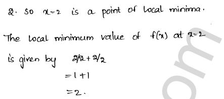 RD Sharma Class 12 Solutions Chapter 18 Maxima and Minima Ex 18.2 15