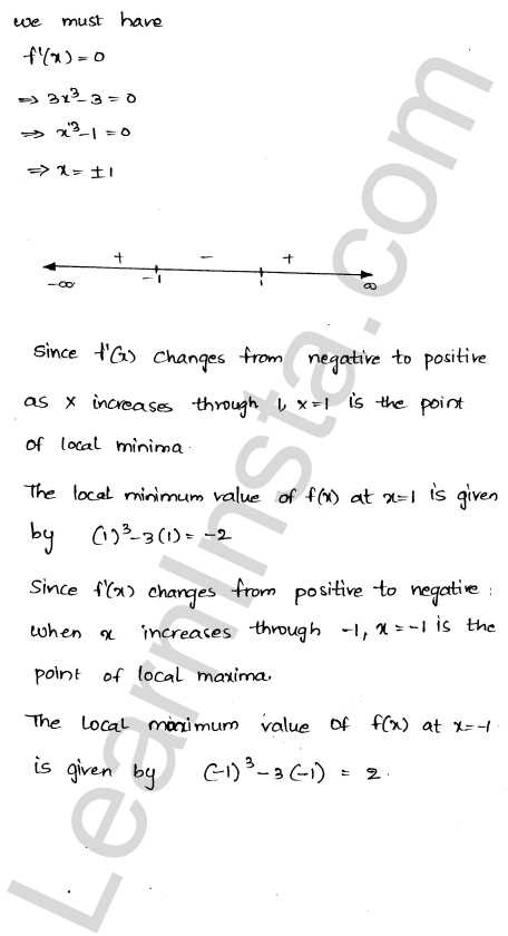 RD Sharma Class 12 Solutions Maxima and Minima Chapter 18 Ex 18.2 2