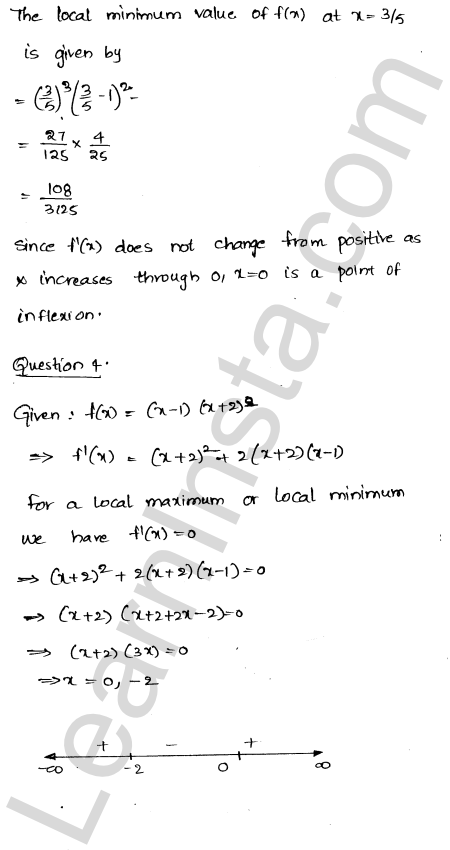 RD Sharma Class 12 Maths Solutions Chapter 18 Maxima and Minima Ex 18.2 4