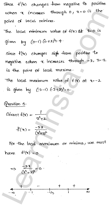 Solution of RD Sharma class 12 chapter 18 Maxima and Minima Ex 18.2 5