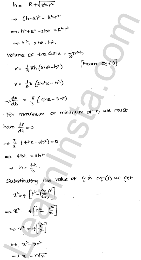Class 12 RD Sharma solutions chapter 18 Maxima and Minima Ex 18.5 28