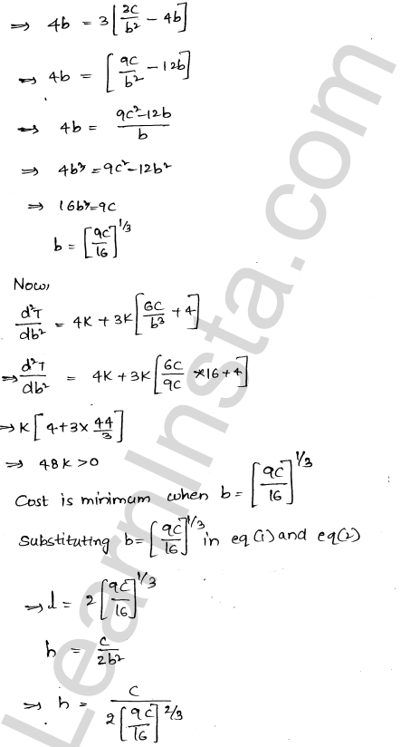 RD Sharma Class 12 Maths Solutions Chapter 18 Maxima and Minima Ex 18.5 51
