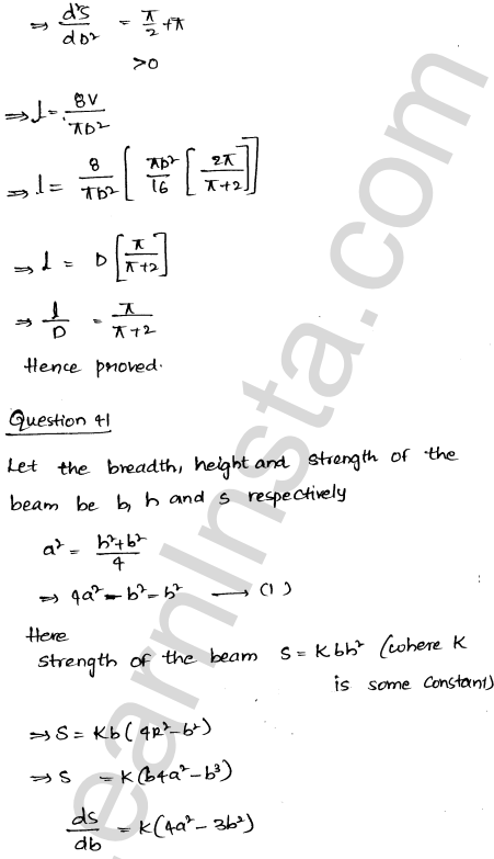 RD Sharma Class 12 Maths Solutions Chapter 18 Maxima and Minima Ex 18.5 55