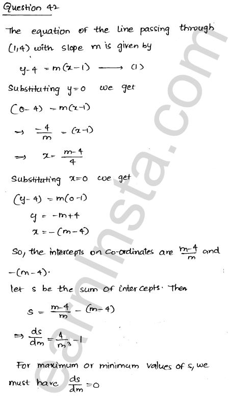 Solution of RD Sharma class 12 chapter 18 Maxima and Minima Ex 18.5 57