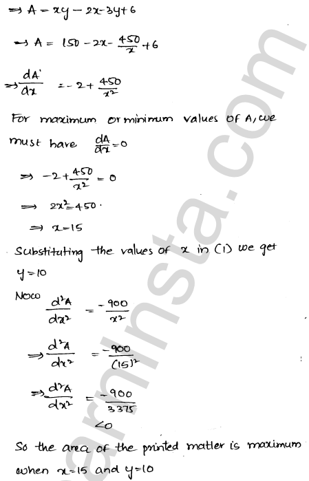Solution of RD Sharma class 12 chapter 18 Maxima and Minima Ex 18.5 59