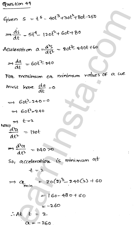 Solution of RD Sharma class 12 chapter 18 Maxima and Minima Ex 18.5 60