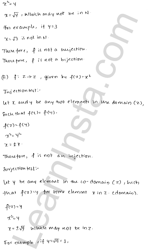 RD Sharma Class 12 Solutions Functions Chapter 2 Ex 2.1 10