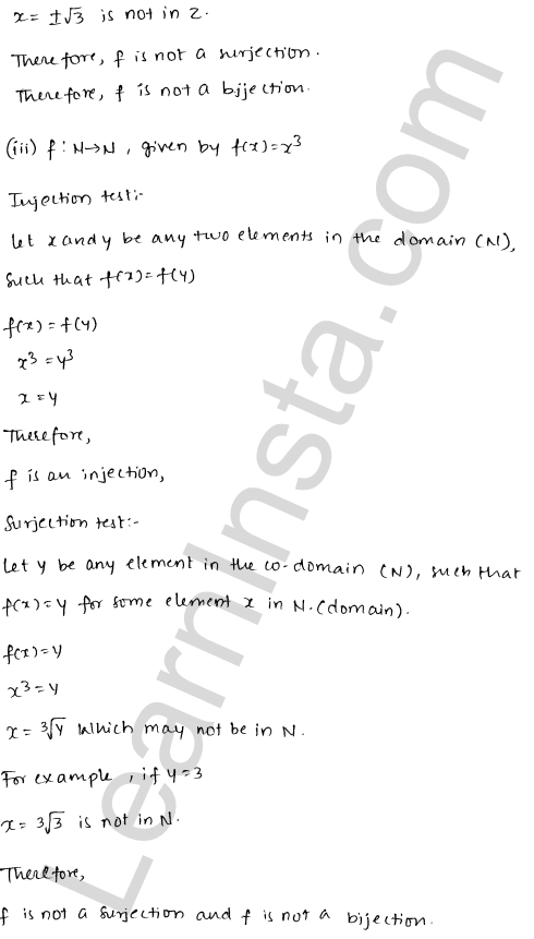 RD Sharma Solutions Class 12 Functions Chapter 2 Ex 2.1 11
