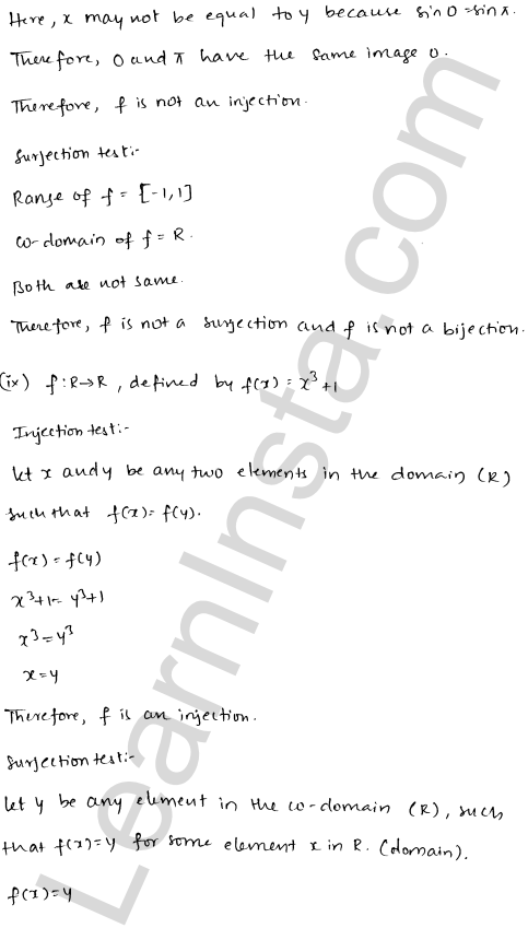 RD Sharma Solutions Class 12 Functions Chapter 2 Ex 2.1 16