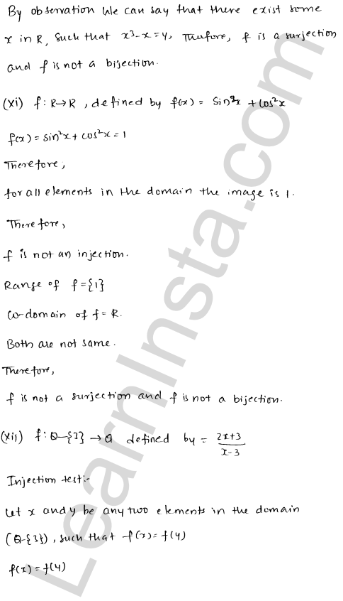 RD Sharma Solutions Class 12 Functions Chapter 2 Ex 2.1 18