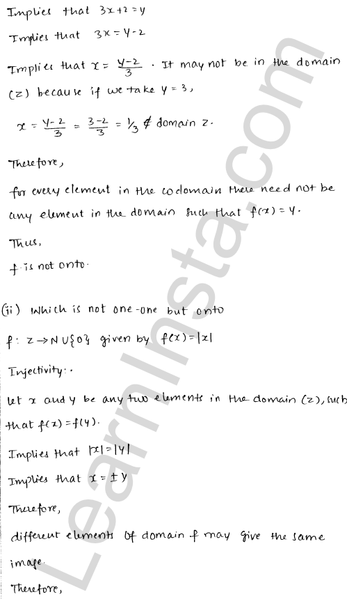 RD Sharma Class 12 Solutions Chapter 2 Functions Ex 2.1 2