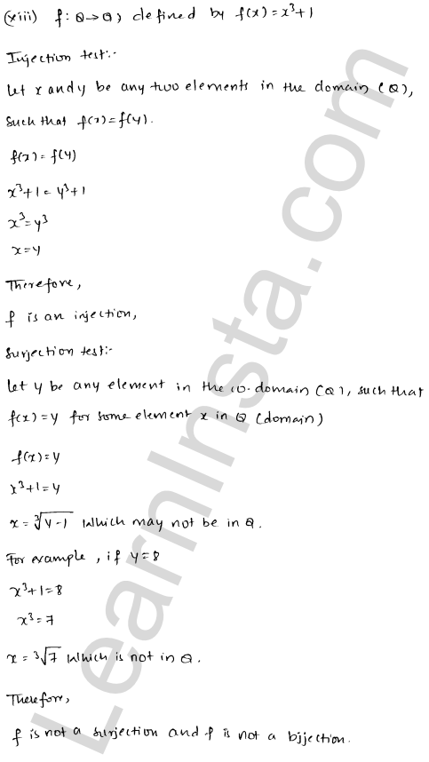 RD Sharma Solutions Class 12 Functions Chapter 2 Ex 2.1 20