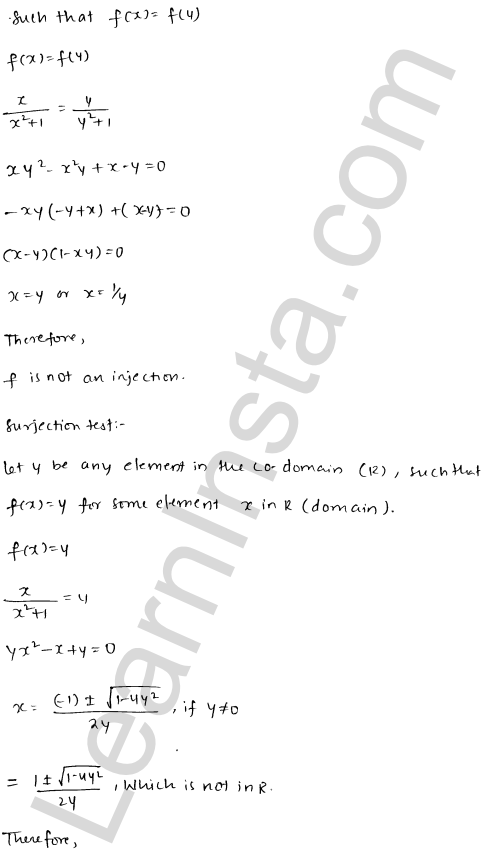 RD Sharma Class 12 Maths Solutions Chapter 2 Functions Ex 2.1 24