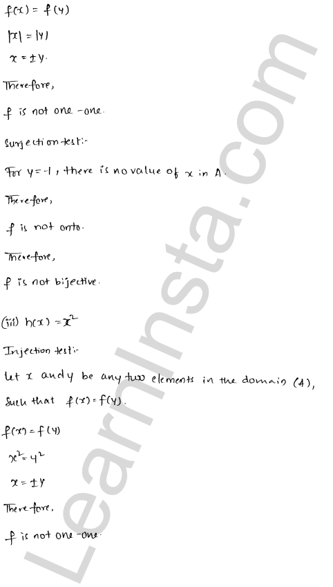 RD Sharma Class 12 Solutions Chapter 2 Functions Ex 2.1