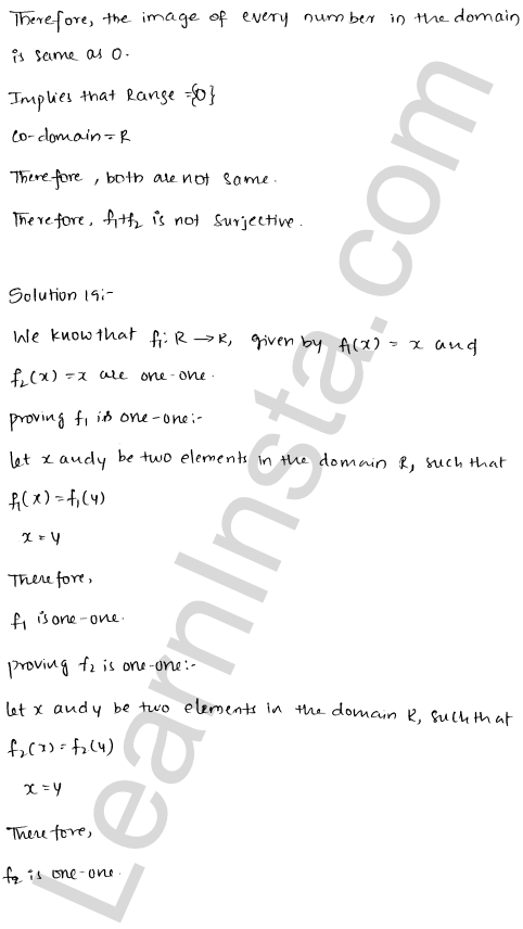 RD Sharma Class 12 Solutions Functions Chapter 2 Ex 2.1 38