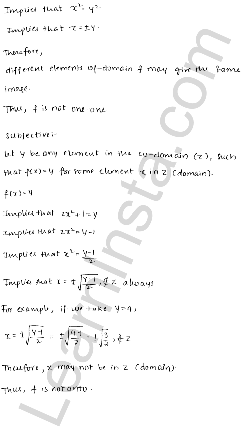 RD Sharma Class 12 Solutions Chapter 2 Functions Ex 2.1 4