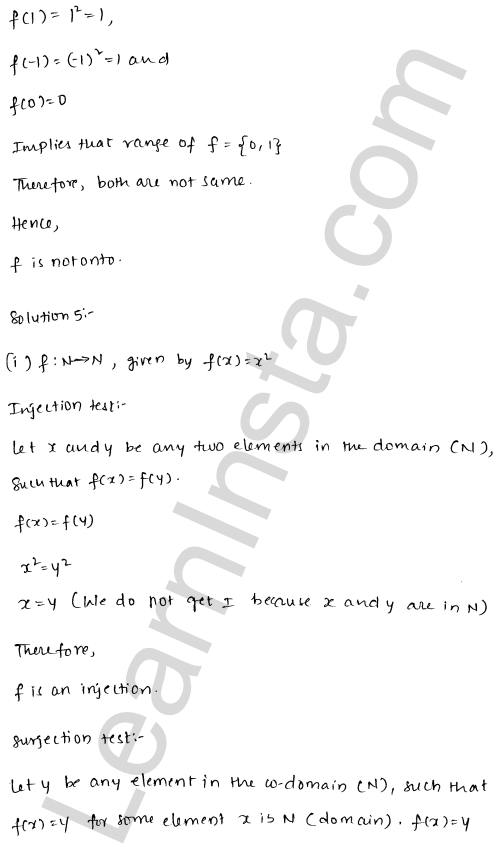 RD Sharma Class 12 Solutions Functions Chapter 2 Ex 2.1 9