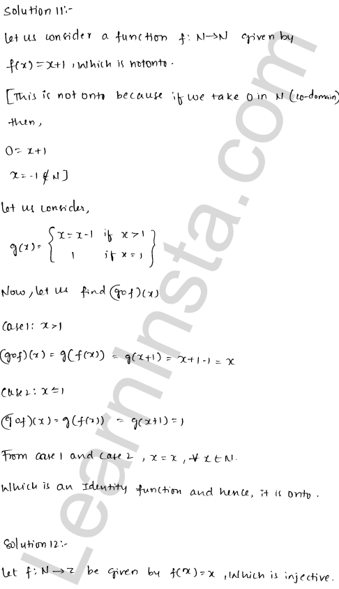 RD Sharma Class 12 Maths Solutions Chapter 2 Functions Ex 2.2 11