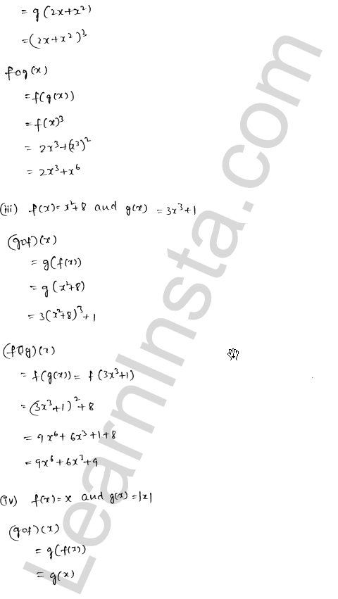 RD Sharma Class 12 Solutions Chapter 2 Functions Ex 2.2 2