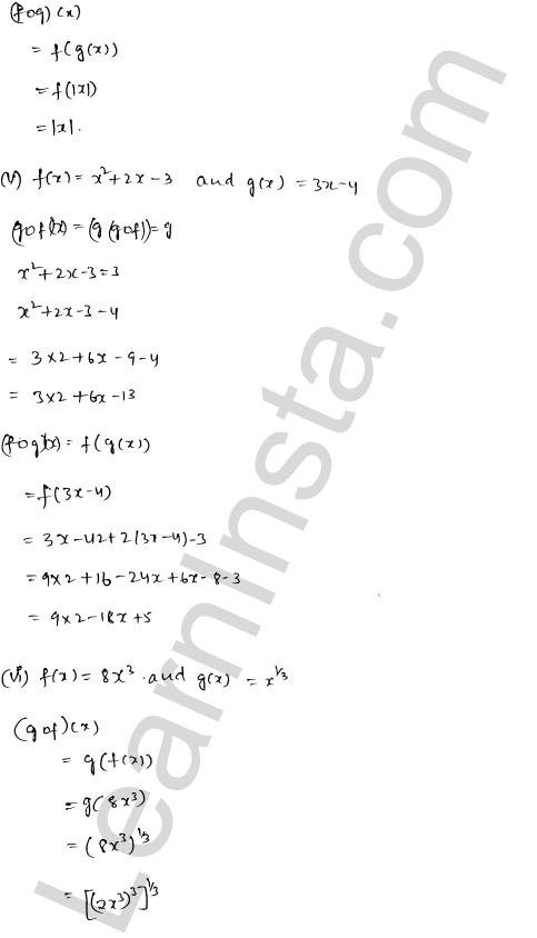 RD Sharma Class 12 Solutions Chapter 2 Functions Ex 2.2 3