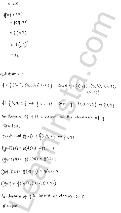 RD Sharma Class 12 Solutions Functions Chapter 2 Ex 2.2 4