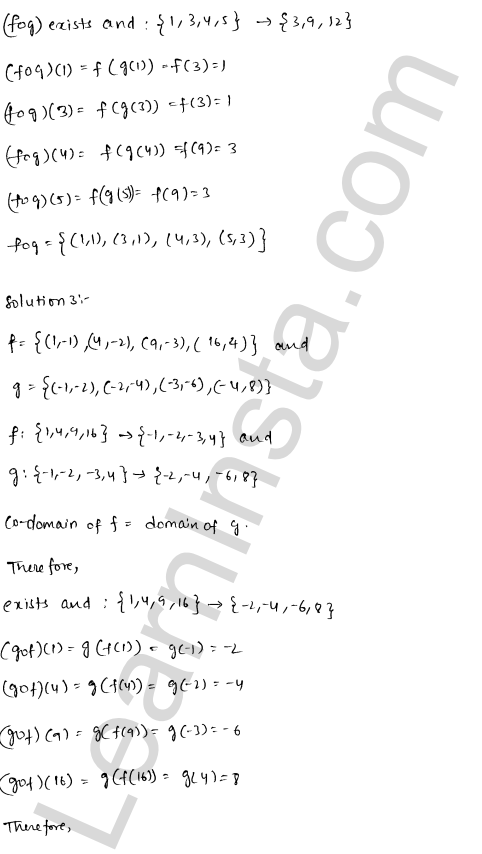 RD Sharma Class 12 Solutions Functions Chapter 2 Ex 2.2 5