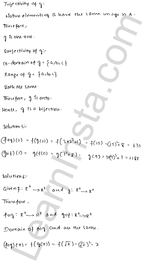 RD Sharma Solutions Class 12 Functions Chapter 2 Ex 2.2 7