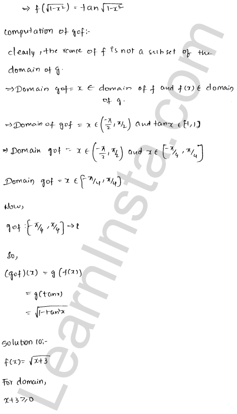 RD Sharma Class 12 Maths Solutions Chapter 2 Functions Ex 2.3 13