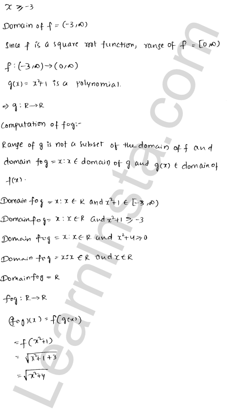 RD Sharma Class 12 Maths Solutions Chapter 2 Functions Ex 2.3 14