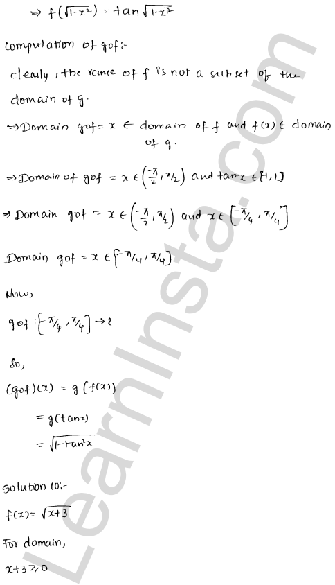RD Sharma Class 12 Maths Solutions Chapter 2 Functions Ex 2.3 15