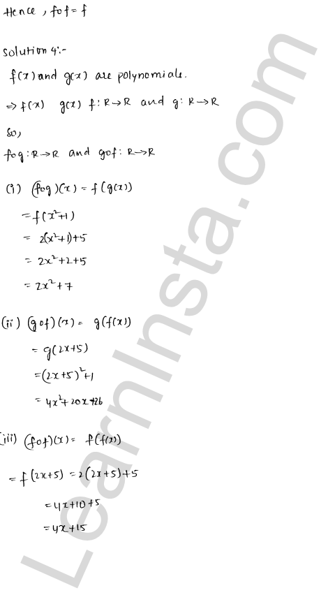 RD Sharma Class 12 Solutions Functions Chapter 2 Ex 2.3 7