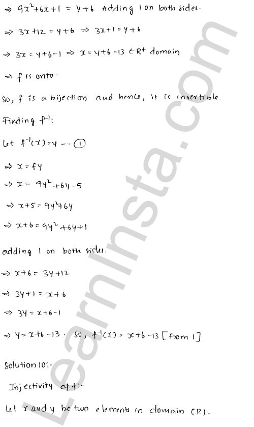 RD Sharma Solutions Class 12 Functions Chapter 2 Ex 2.4 11