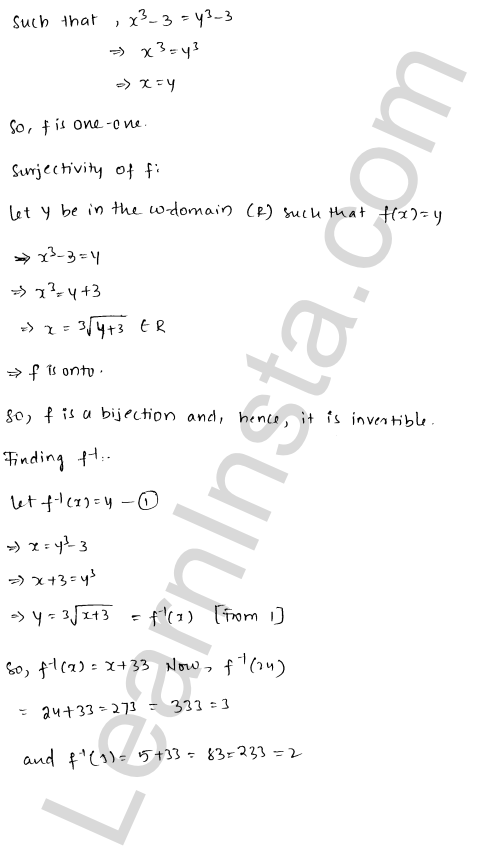 RD Sharma Solutions Class 12 Functions Chapter 2 Ex 2.4 12