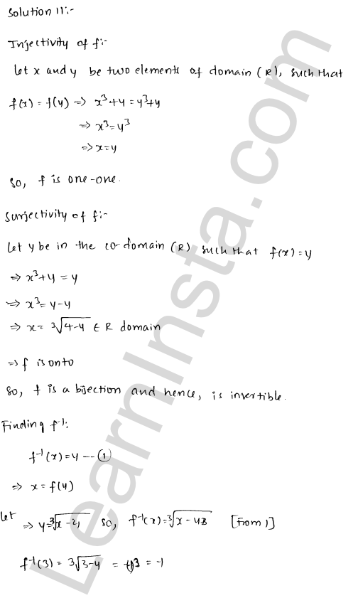RD Sharma Solutions Class 12 Functions Chapter 2 Ex 2.4 13